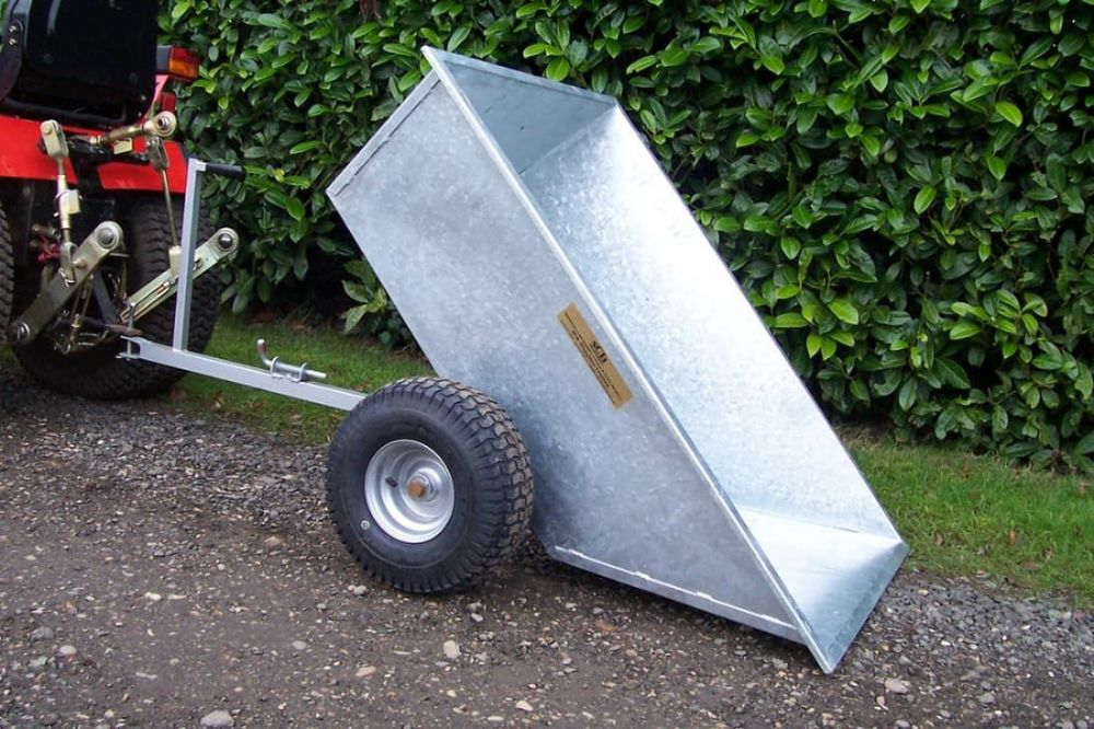 Galvanised Tipping Dump Trailer